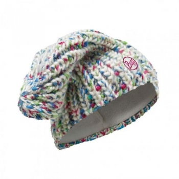 Шапка Buff Knitted & Polar Hat Yssik Star White 110992