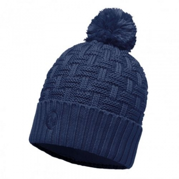 Шапка Buff Knitted & Polar Hat Airon Dark Denim 111021