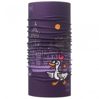 Повязка Buff High UV Protection Kukuxumusu Goose Plum 111531