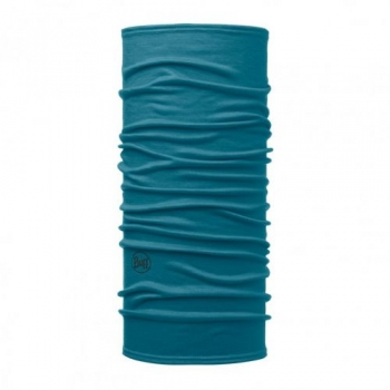 Повязка Lightweight WOOL Buff Solid Lake Blue 113010
