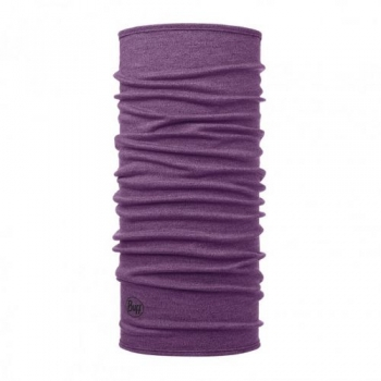Повязка Midweight WOOL Buff Purple Melange 113022