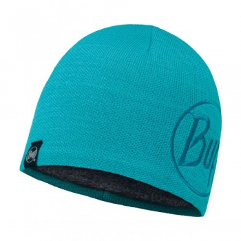 Шапка Buff Knitted & Polar Hat Solid Logo Turquoise 113518