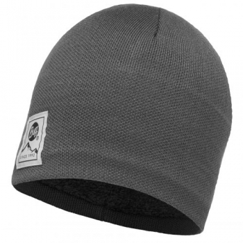 Шапка Buff Knitted & Polar Hat Solid Grey Castlerock 113519