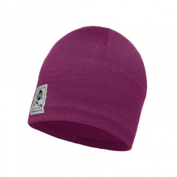 Шапка Buff Knitted & Polar Hat Solid Pink Cerisse 113519