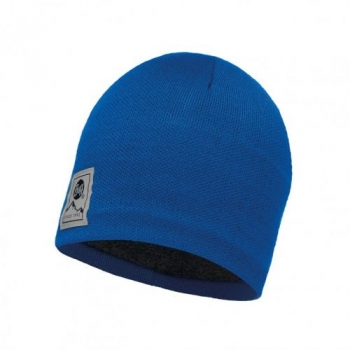 Шапка Buff Knitted & Polar Hat Solid Blue Skydiver 113519