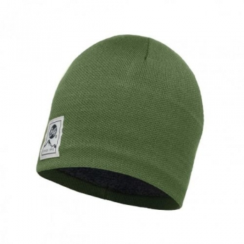 Шапка Buff Knitted & Polar Hat Solid Forest 113519