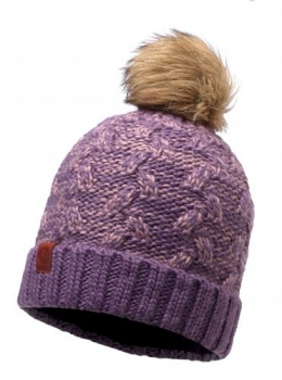 Шапка Buff Knitted & Polar Hat Kiam Deep Grape 116037