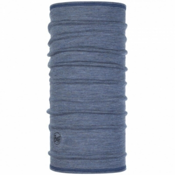 Повязка Lightweight WOOL Buff 3/4 Light Denim Multi Stripes 119331