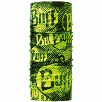 Повязка Original Buff Log Us Yellow Fluor 117948