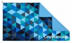 Полотенце Lifeventure SoftFibre Triangle Print Travel Towel 6307