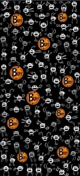 Повязка Kids Buff JAJAJA BLACK 810000