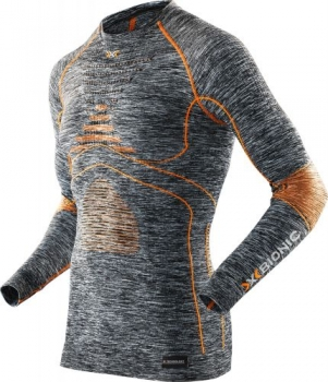 Термофутболка X-Bionic Energy Accumulator Evo Round Neck Melange Man I100664