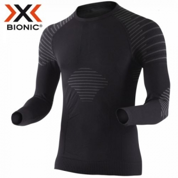 Термофутболка X-Bionic Invent Man Shirt Long Sleeves Roundneck I20270