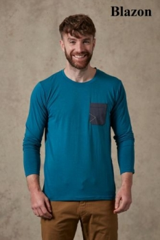 Термофутболка Rab Crimp LS Tee QBU-58