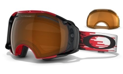 Маска Oakley Airbrake Hyperdrive Red Black Iridium & Persimmon