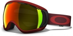 Маска Oakley Canopy Burnt Red Fire Iridium