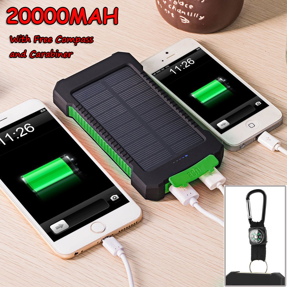 Solar power bank 20 000 mah отзывы