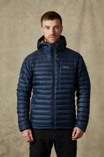 Куртка пуховая Rab Microlight Alpine Jacket QDA-90
