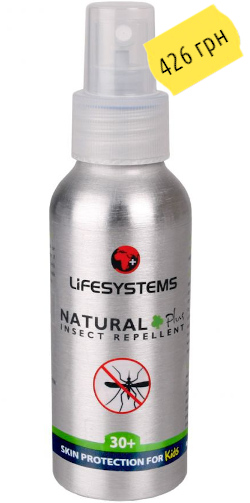 LifeSystems Natural 30+ Kids 100 ml 6420