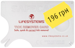 LifeSystems Tick Remover Card 34020