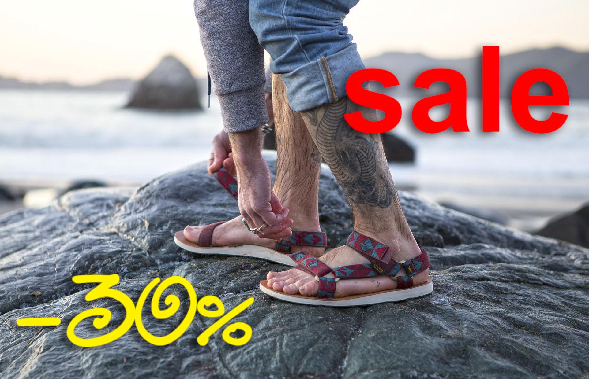Распродажа сандалии